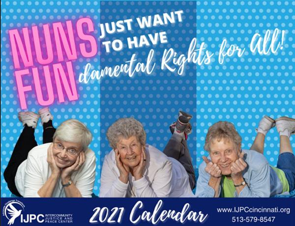 Calendario de monjas 2021