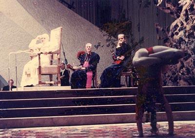 Cirkuskonster i Vatikanen