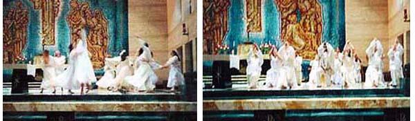 Liturgical dance on the altar 2