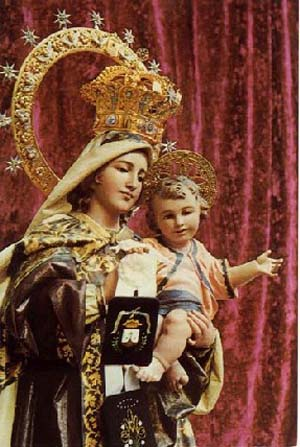 Our Lady of Mount Carmel, feast day of July 16 July 16