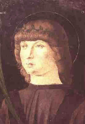 St. Laurence Justinian as a young man