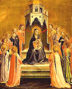 La Madonna, por FraAngelico