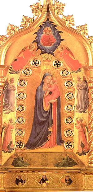 Madonna della Stella por Fra Angelico