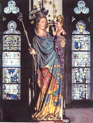 Madonna en la Catedral de Milán