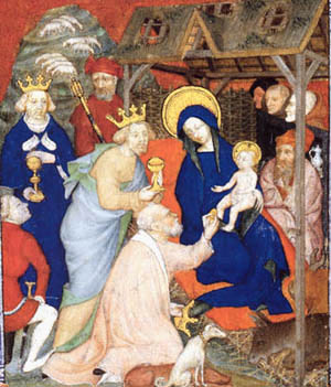 Adoration of the Magi, artist/origin un-noted