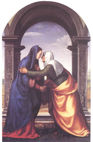 Visitation of Our Lady to St. Elizabeth, Feastday of July 2