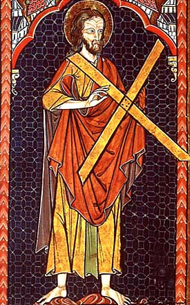 St. Andrew the Apostle, Saint of November 30