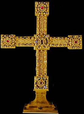 Regalia del Imperio Romano: Cruz