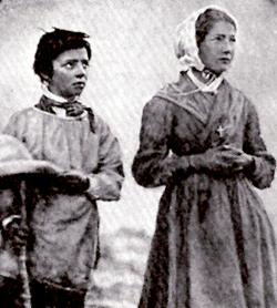 Los pastores Melanie & Maximin