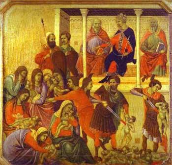 Santos Inocentes por Buoninsegna