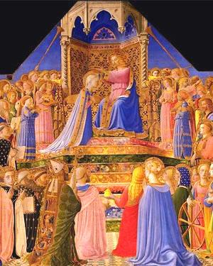 Coronación de la Virgen María - Fra Angelico
