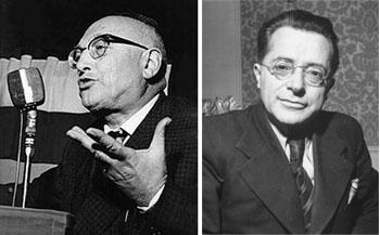 Pietro Nemi y Palmiro Togliatti