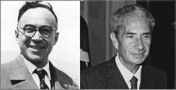 Giorgio La Pira y Aldo Moro