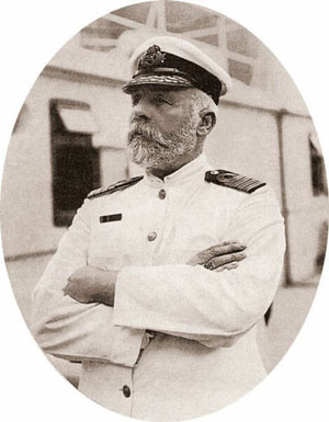 Edward Smith capitán del Titanic