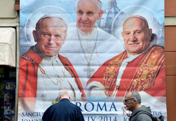 Whos Who regarding the Canonizations of John Paul II and