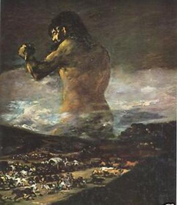 El pánico de Goya
