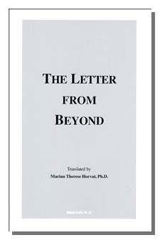 The cover of The Letter From Beyond