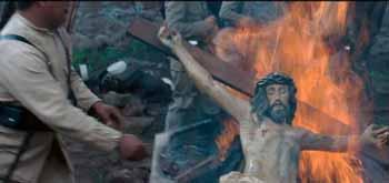 Para mayor crucifijo ardiente gloria