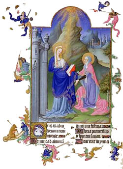 The Magnificat in Latin and English