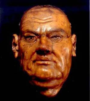 Image result for luther death mask