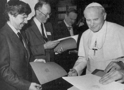 John Paul II, Pontifical Academy of Sciences 1996
