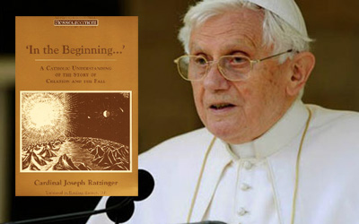 Pope Benedict XVI evolution