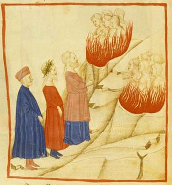 Las llamas del Purgatorio