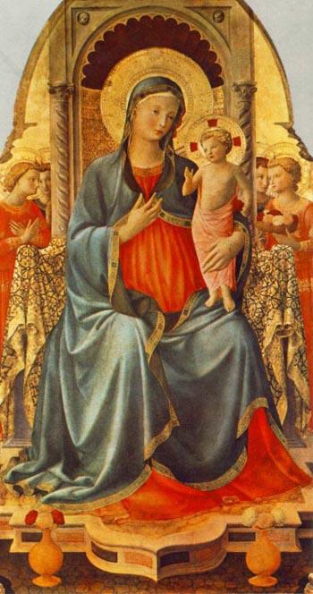 madonna y niño fra angelico