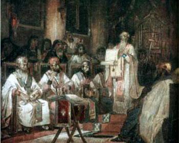 Papa Vigilio tres capítulos