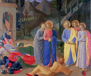 Ego sum, by Fra Angelico