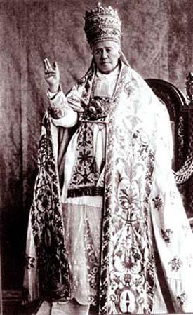 San Pío X como un Papa