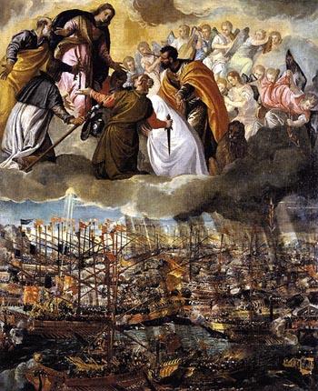 Heaven gives Victory at Lepanto