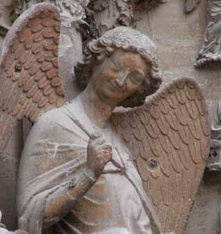 L'ange au sourire, el sonriente ángel de Reims